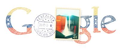 Google Logo: Venezuelan Independence day - 2012
